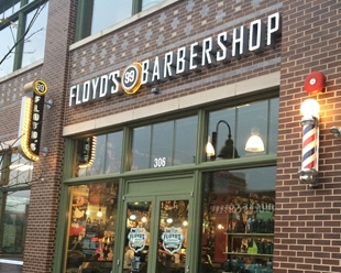 Floyd's 99 Barbershop on Copley Place in Downtown Crown of Gaithersburg, MD