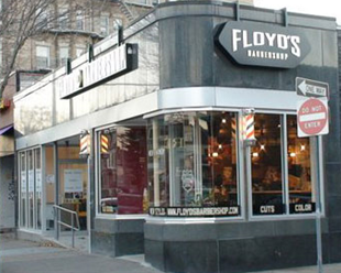 Floyd's 99 Barbershop in Cambridge, Massachusetts near Harvard University