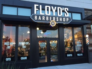 Floyd's 99 Barbershop in Town Center, Columbia, Maryland