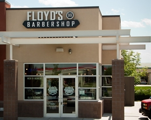 Floyd's 99 Barbershop in Longmont, CO on Hover St.