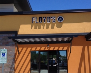 Floyd's 99 Barbershop in Scottsdale, Arizona near the Thunderbird Industrial Airpark